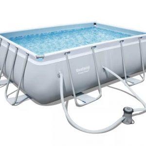 בריכת מים ביתית בצורת מלבן-0