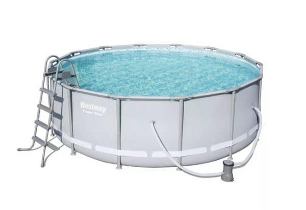 בריכת מים ביתית בצורת עיגול-0