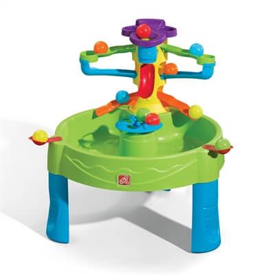 שולחן פעילות מים כדורים step2