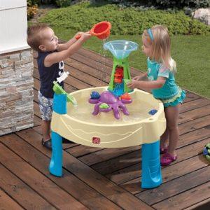 שולחן פעילות מים תמנון step2