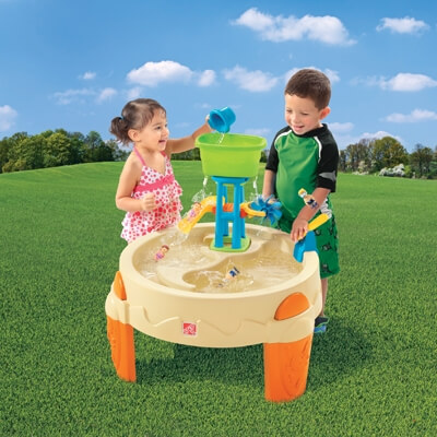"""שולחן מים """"פארק המים"""" step2"""