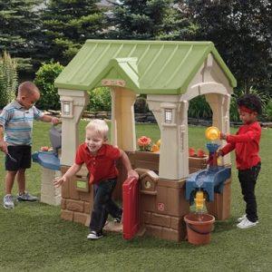 בית לילדים מים וגריל step2