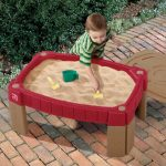 שולחן פעילות חול עם מכסה step2