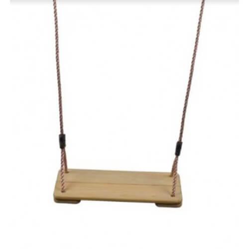 נדנדת ישיבה לוח עץ תלייה