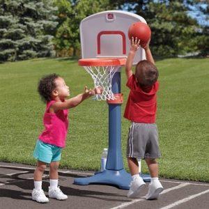עמוד כדורסל מתכוונן לקטנים