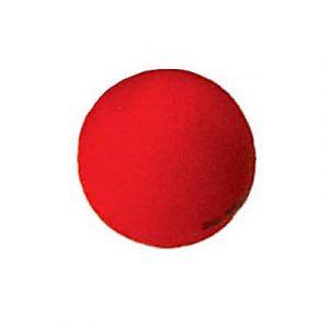 """כדור כובד 1 ק""""ג אדום"""